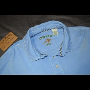 Orvis Adult XL Fly Fishing Polo Shirt